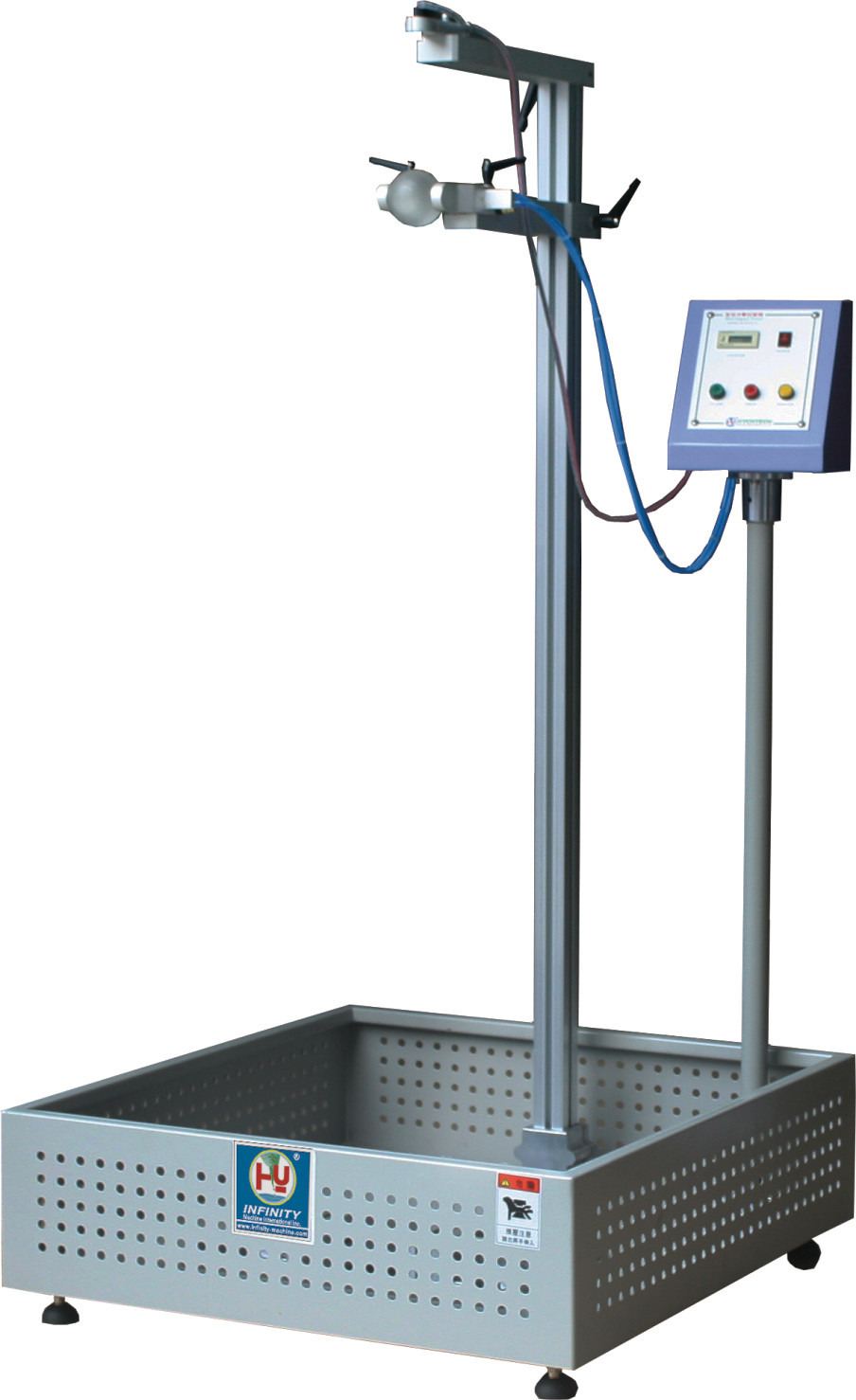Electronic Impact Testing Machine , Drop Ball Test Equipment JIS Standard