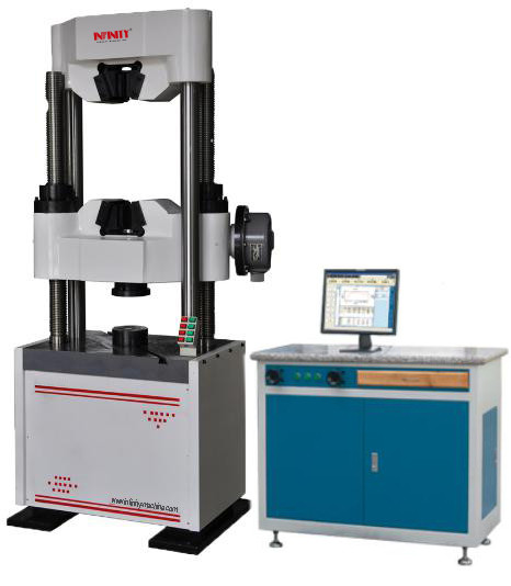 Three Phases Computerised Universal Testing Machine With Hydraulic Clammping